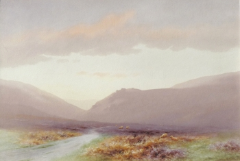 Doone Valley, Looking West, Charles Edward Brittan jnr