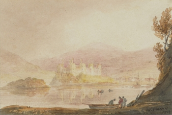 Conway Castle & Ferry, William Payne