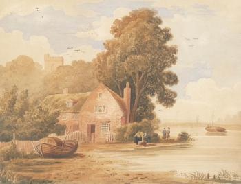 Cottage by Estuary, J Owens