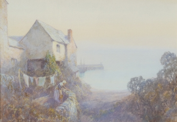Clovelly, North Devon, John White