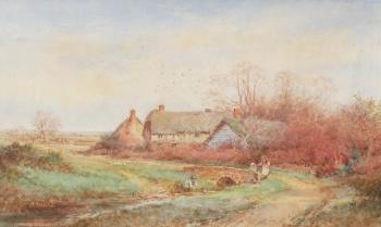 A Rural Idyll, Henry John Sylvester Stannard