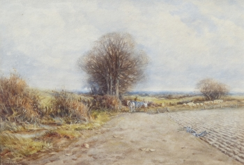 Feeding the Sheep , Alexander Molyneaux Stannard