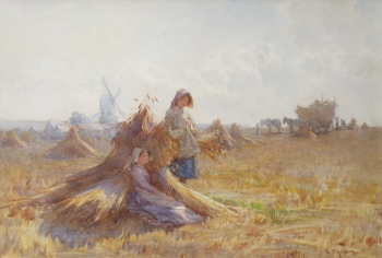 Harvest Time, William F  Measom