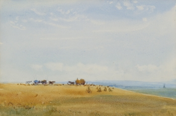 Harvest Scene, Robert Thorne Waite