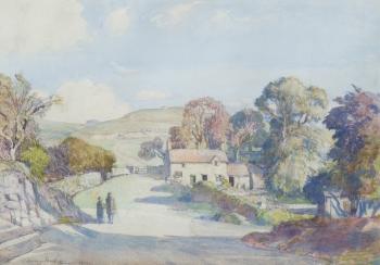 Ashbourne Village, Samuel John Lamorna Birch