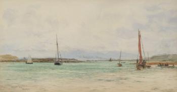 Millport Bay, Great Cumbrae, William Lionel Wyllie