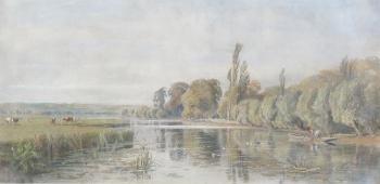 Morning on the Thames, George Arthur Fripp