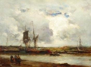 Rye Harbour, Sussex, Edward Aubrey Hunt
