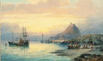 St. Michael's Mount, Cornwall, William Anslow Thornley