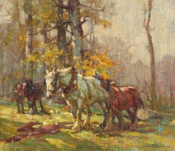Autumn Woodland, Arthur Spooner