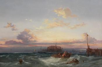 After a Storm on the Scheldt, James Webb