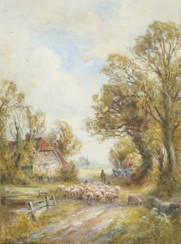 A Sussex Lane, Henry John Kinnaird