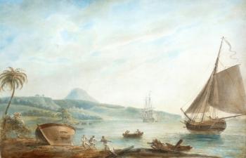 Prince Rupert's Bay, Dominica (circa 1770) , Nicholas Pocock