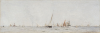 Yachts & other Vessels, William Lionel Wyllie