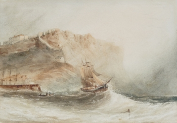 Shipping off Scarborough, Henry Barlow Carter
