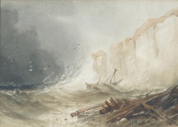 Wreck on the Coast, Henry Barlow Carter