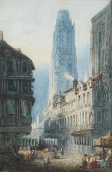 Rouen, France, Frederick Mercer