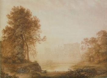 Warwick Castle  , John  Glover