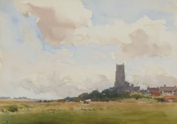 An East Anglian Church and Village  , Gerald Ackermann