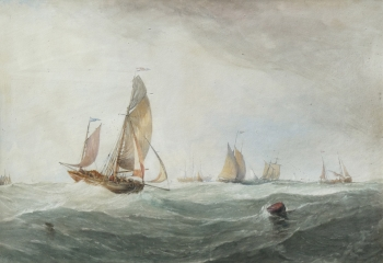Shipping in a Swell , John Salmon
