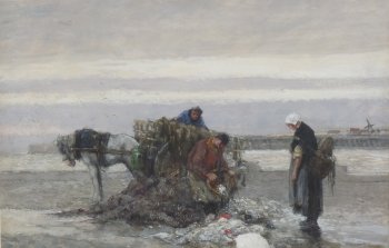 Inspecting the Catch, Dudley Hardy