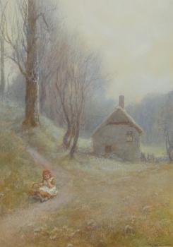 Primrose Time, Branscombe, John White