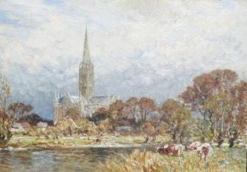 Salisbury Cathedral , Frederick William Newton Whitehead