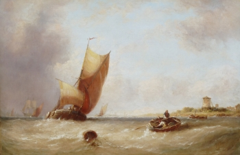 Near Harwich, Essex, George Stainton