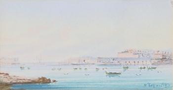 Day Scene of Malta, Vincenzo d'Esposito