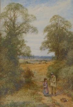 Autumn at Pullox Hill, Bedfordshire, Henry John Sylvester Stannard