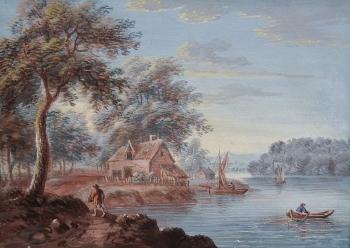 View on an Estuary, John Laporte