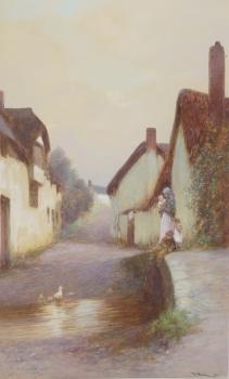 Ducklings, Newton St Cyres, John White