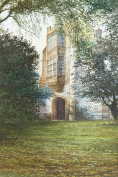 The Old Gatehouse, Cerne Abbey, Kenneth Stanley Tadd