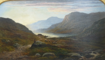 Evening on a Scottish Loch, John Nesbitt