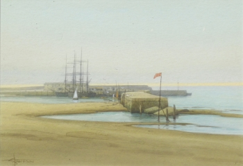 Lyme Regis (in mirror image), Stephen Thompson