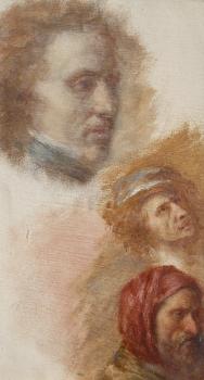 Portrait Sketches, George Darley