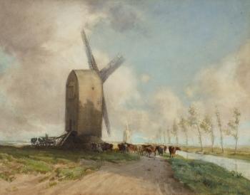 The Marsh Mill, William Tatton Winter