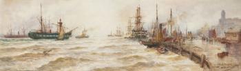 North Shields Harbour, Thomas Bush Hardy