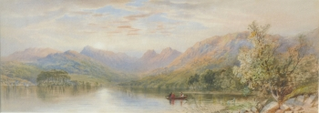 Scene Near the Head of Windermere, Cornelius Pearson