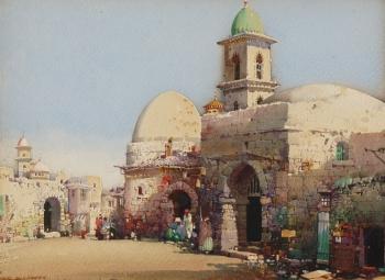 A Corner of Algiers, Noel Harry Leaver