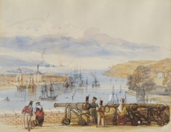 View of Devonport Harbour, J. Salmon