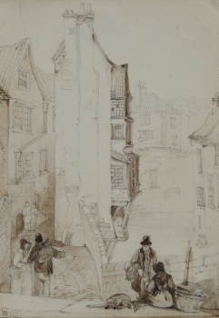Near Union Street, Bristol, William James Muller