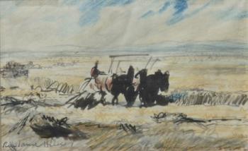 Harvest, Rowland Hilder