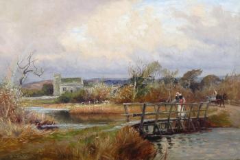 Jona's Puddle, near Wareham, Dorset, Frederick William Newton Whitehead
