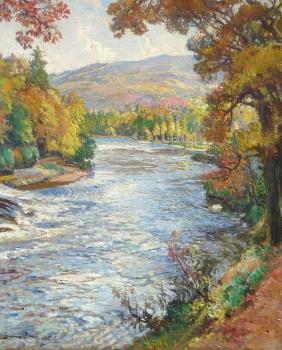 River Landscape, Samuel John Lamorna Birch