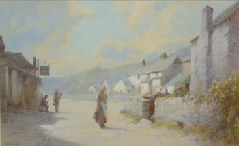 """""""Light and Shade Abbotsbury"""", Dorset, John White"""