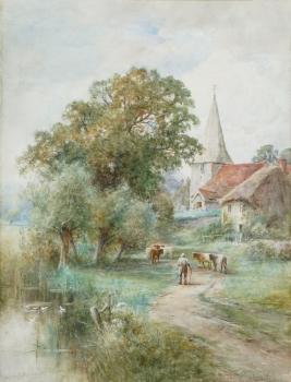 Bury Church, Sussex, Henry John Kinnaird