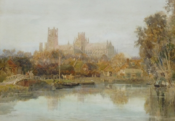 Ely, An Autumn Day, Harry T. Hine