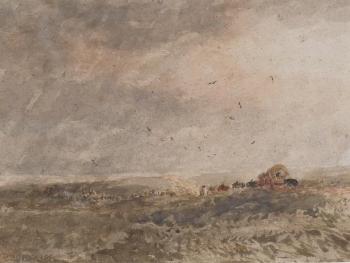 Crossing the Moor, David Cox senior