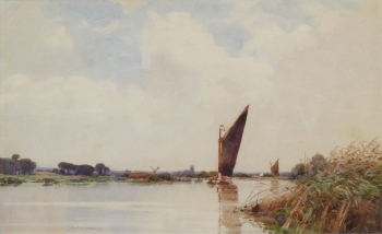 The Norfolk Broads, Wilfred Williams Ball